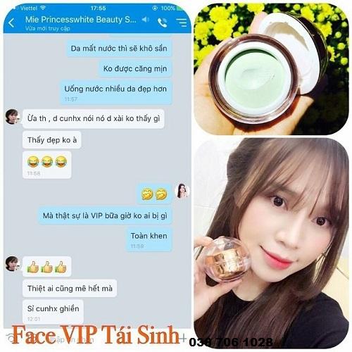 kem face vip princess white tphcm