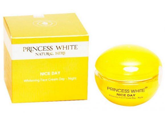 Kem Nice Day Princess White dưỡng trắng da mặt ngày và đêm