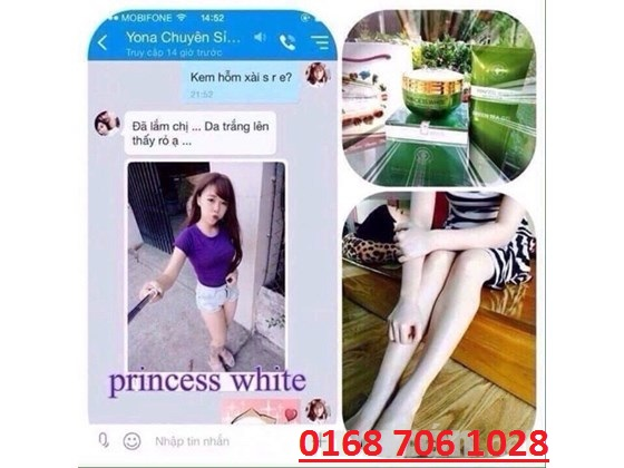 review body trà xanh princess white