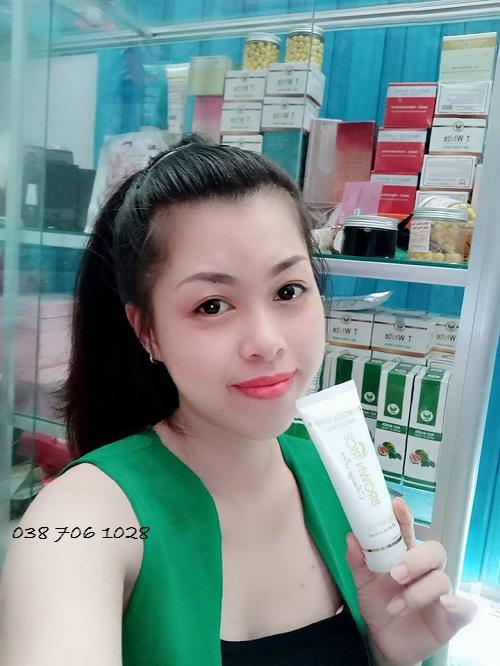 sữa rửa mặt princess white