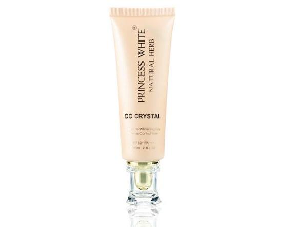 Kem dưỡng trắng da che phủ khuyết điểm Cc Cream Crystal