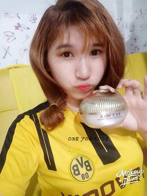 cách dùng kem body sữa gạo princess white