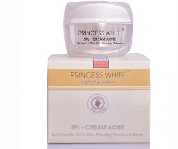 Kem trị mụn SPL Cream Acne Princess White ngừa mụn và thâm