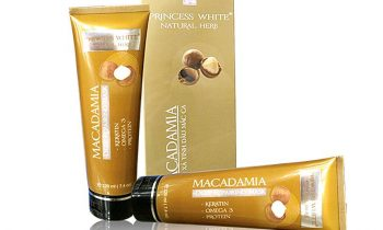 Kem ủ xả phục hồi 2in1 Macadamia Princess White từ thiên nhiên