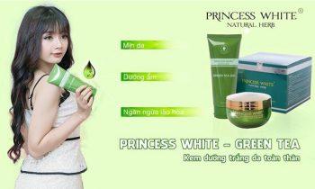 Kem Princess White Green Tea Trà Xanh có tốt không? Giá bao nhiêu