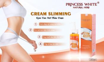 Kem tan mỡ Slimming Cream Princess White có tốt không, mua ở đâu?