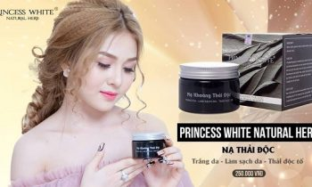 Nạ khoáng thải độc princess white mua ở đâu? Giá bao nhiêu