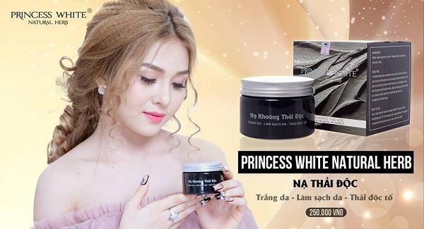 Nạ khoáng thải độc princess white
