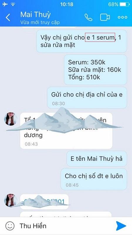 serum 3 in 1 giá bao nhiêu