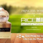 Kem body sữa gạo Princess White Tphcm giá bao nhiêu? Có tốt không