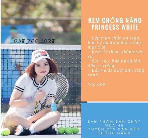 mua kem chống nắng princess white ở đâu