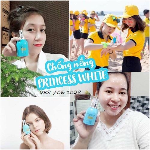địa chỉ bán kem chống nắng princess white