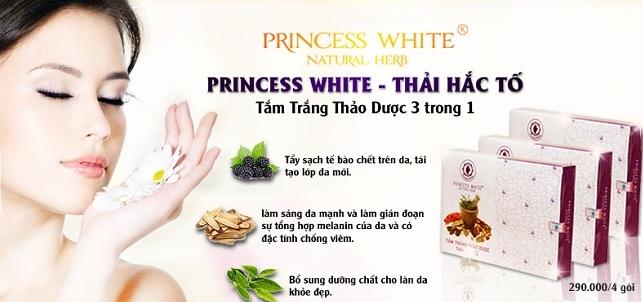 Tắm trắng thảo dược Princess White có tốt không