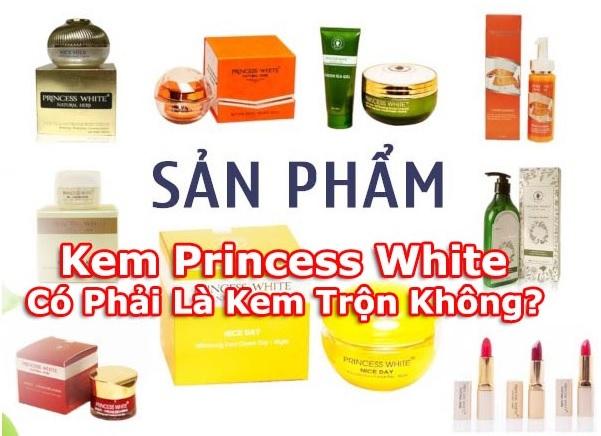Kem Princess White Có Phải Là Kem Trộn Không