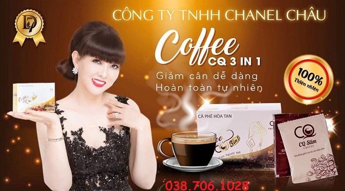 cà phê giảm cân CQ Slim Coffee
