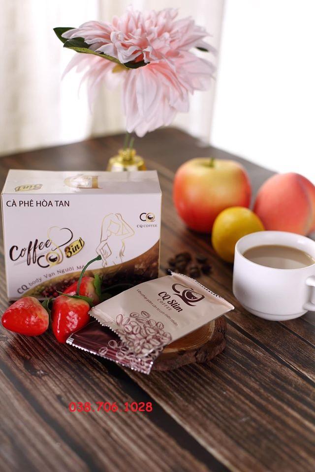 Thành Phần Của CQ SLIM COFFEE