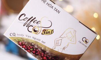 Cà Phê Giảm Cân CQ Slim Coffee 3 IN 1 Có Tốt Không?